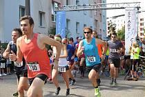 Závodníci vyběhli do týnišťských pralesů hlavně pro Aničku.