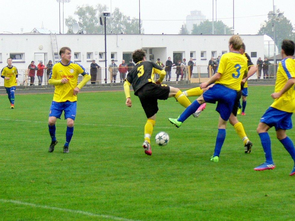 Krajská fotbalová I. A třída: SK Dobruška - FK Černilov.