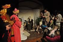 Betlémský příběh na zámku v Potštejně