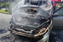Požár způsobil škodu za 150 tisíc korun.