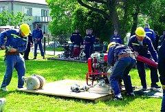 Čestičtí hasiči v akci.