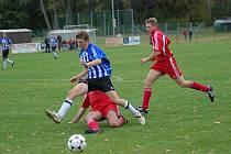 Z okresního derby I. B třídy Sokol Černíkovice - AFK Častolovice (2:1).