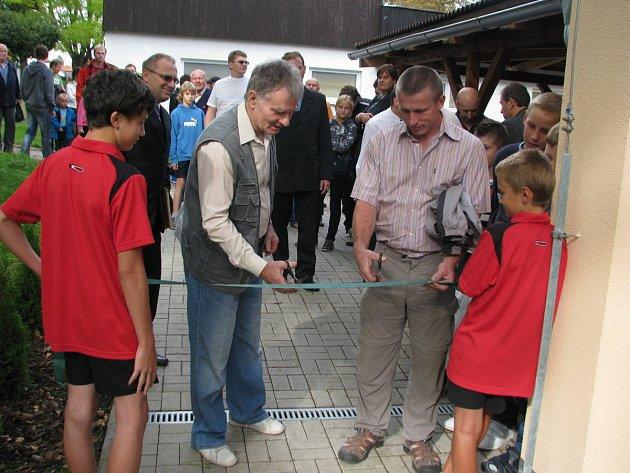 Nová sportovní hala v Kostelci nad Orlicí