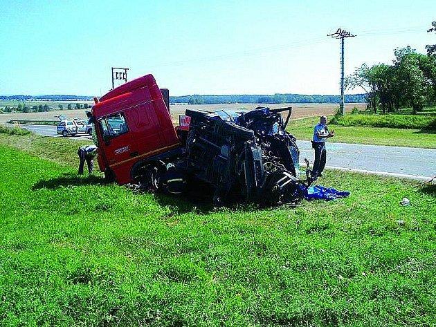 Tragická dopravní nehoda se stala nedaleko dobrušského koupaliště.