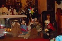 Dětská půlnoční odstartovala na Štědrý den také v Rychnově nad Kněžnou.