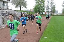 Odznak všestrannosti olympijských vítězů - okresní kolo soutěže v Rychnově nad Kněžnou.