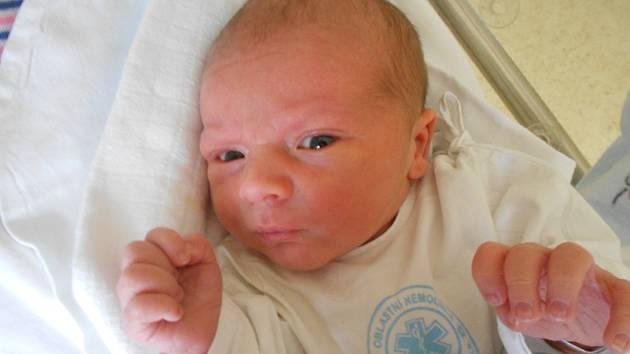 Dominik Tysek se narodil 13. listopadu 2018 v 0.22 hodin Janě Tyskové z Holic. Vážil 3 380 g a měřil 49 cm.