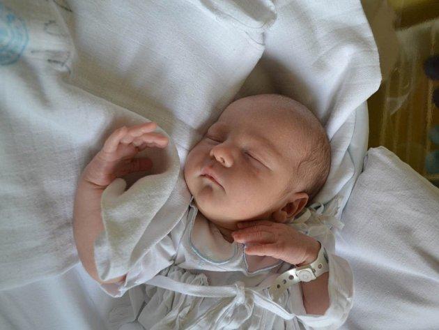 JAROSLAV KLAPAL se narodil 8. července v 8:35 manželům Pavlíně a Tomášovi Klapalovým z Lipovky. Chlapeček po narození vážil 3100 gramů a měřil 49 cm. Tatínek bohužel porod opět nestihl. Doma se na mladšího brášku těší sestřička Nela (3,5 roku).