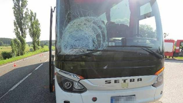 Z nehody mezi Výšinkou a Stříteží na Trutnovsku.