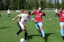 Okresní derby rezervních týmů skončilo těsnou výhrou hostů z Rychnova.