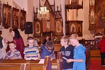 Noc kostelů očima dětí z rychnovské Masaryčky