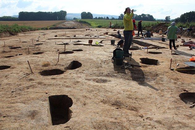 Ze záchranného archeologického výzkumu uDoudleb nad Orlicí.