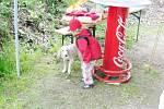 Dětský den na Kozím chlívku v Deštném v Orlických horách.