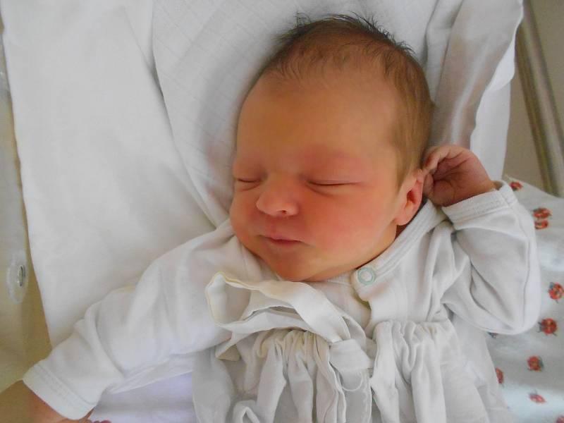 ANNA SUKOVÁ se narodila 23. července v 15.26 hodin. Měřila 49 cm a vážila 2920 g. Velkou radost udělala svým rodičům Kláře Malochové a Danielu Sukovi z Liberka. Tatínek byl u porodu a zvládl to na jedničku s hvězdičkou.