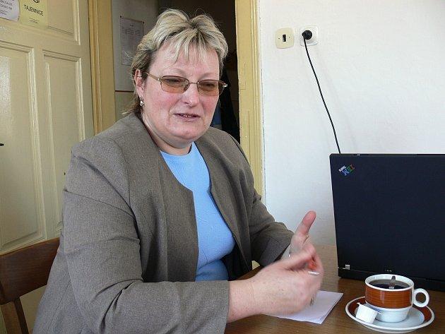 Poslankyně ČSSD Vladimíra Lesenská