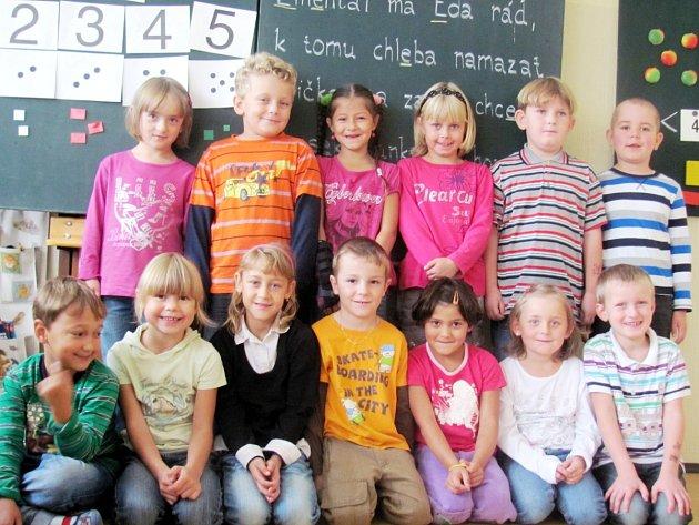 První třída ZŠ Borohrádek