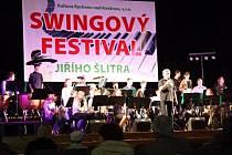 Swingový festival Jiřího Šlitra.