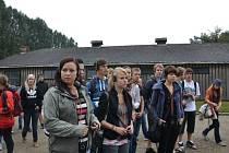 Výlet studentů Gymnázia F. L. Pelcla v Rychnově n. K. do Osvětimi