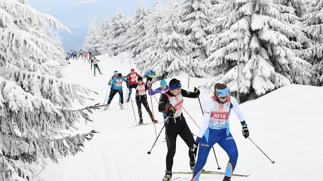 Orlický maraton - závody v běhu na lyžích v Orlických horách.