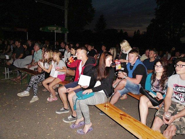 Historická premiéra letního kina v Ledcích se podařila