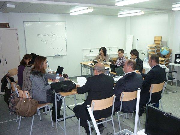 Fiktivní firma Základní školy TGM vBorohrádku na setkání ve Španělsku