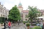 Nádvoří zámku v Častolovicích. Foto: Deník/Jana Kotalová