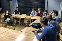 Mladí dokumentaristé z Dobrušky.
