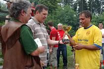Triumf z premiérového ročníku si ve Voděradech zopakovali hráči Milána Jaroměř.