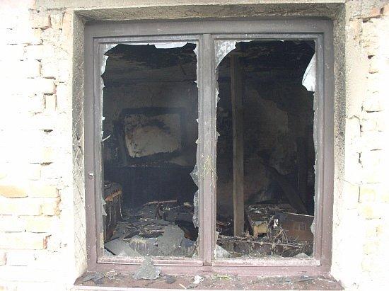 Šachov (Rychnovsko): Při požáru usedlosti zahynul její majitel.