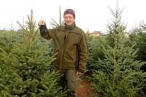 Pavel Michl na své houdkovické plantáži.
