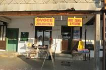 Prodejna v Rokytnici, kterou musele zavřít hygiena.