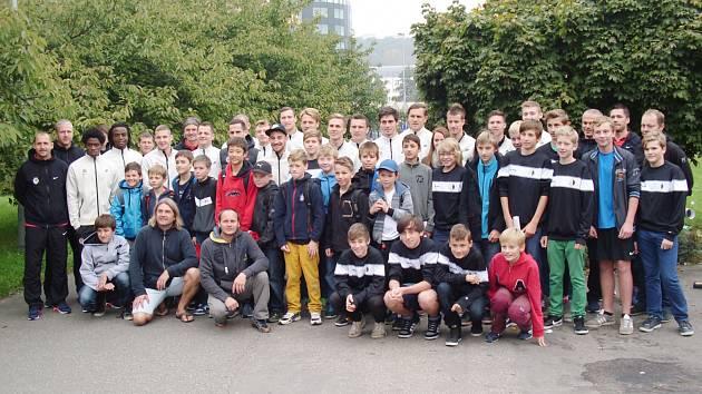 Mladí rychnovští fotbalisté mezi hvězdami Sparty