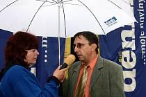Starosta Vamberku Jiří Mazúch odpovídá na dotazy redaktorky Rychnovského deníku Ivany Kučerové.