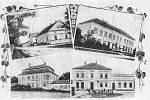 Obec má rozsáhlou historii, kdy se měnili majitelé. Byly zde vybudovány dvě tvrze. Stará tvrz byla dobyta a rozbořena ve 14. století. Po rozboření byla vybudována nová tvrz, jejíž část základů se dochovala až do začátku 19. století.