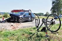 Nehoda u Očelic.