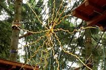 Lanový park Říčky v Orlických horách
