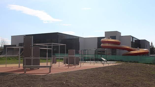 Rychnovský krytý bazén.