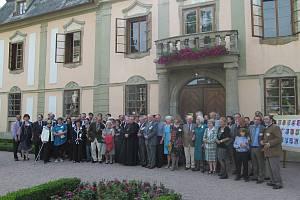 Ze setkání potomků zástupců šlechty, kteří v letech 1938 a 1939 vlastenecké deklarace.