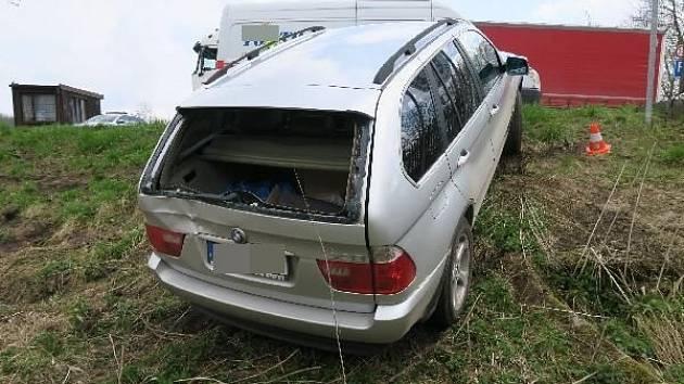 Nehoda v Borohrádku