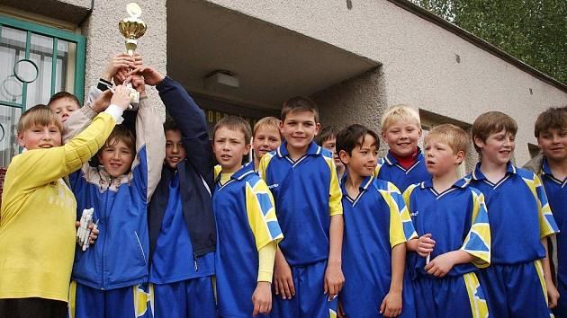 Vítězný tým z Opočna.