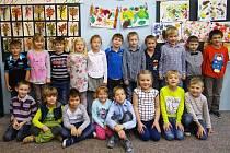 Žáci 1. třídy Základní školy Voděrady