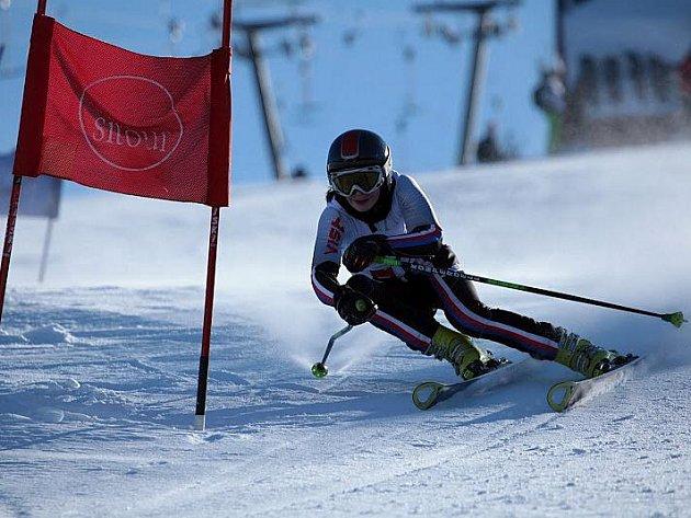 """""""Stříbrný"""" slalom Lucie Rydlové"""