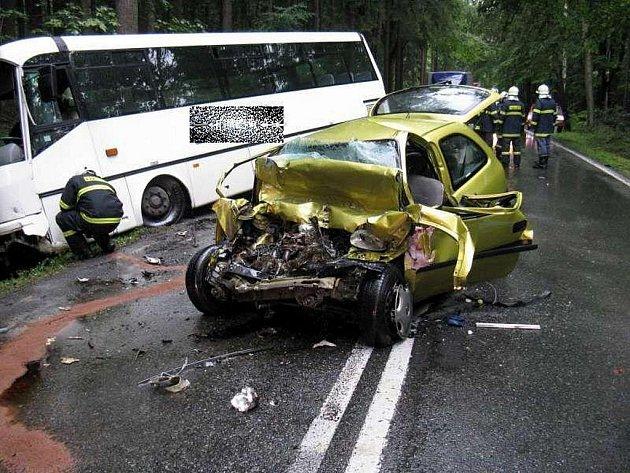 TRAGICKÁ nehoda na státovce u Vamberku