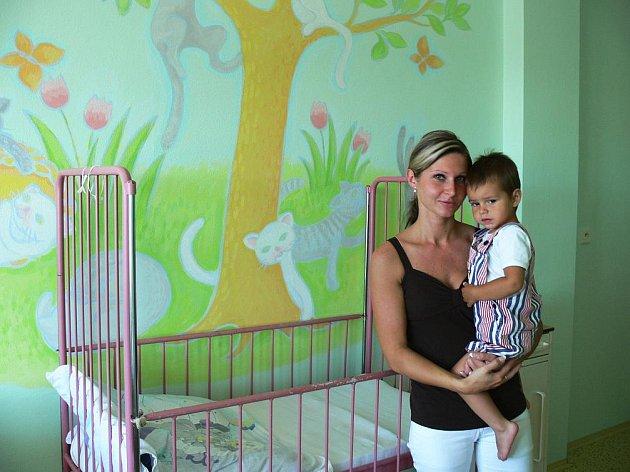 Dětské oddělení rychnovské nemocnice