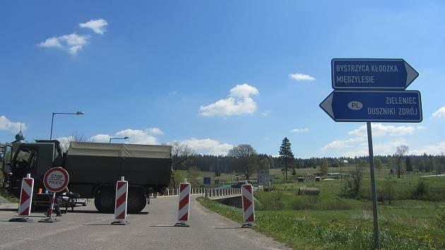 Hranice v Orlickém Záhoří.