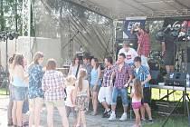 Na první ročník Vamberáku lákala známá kapela Mňága a Žďorp i pantomima