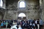 Novomanželé Mazánkovi si řekli ano v květnu na hradě v Potštejně.