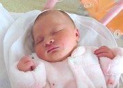 MICHAELA TŘEŠŇÁKOVÁ se narodila manželům Pavle a Miroslavovi Třešňákovým z Bačetína. Holčička se narodila 21. 1. v 19.17 hodin s váhou 3,46 kg a délkou 51 cm. Tatínek to u porodu zvládal na výbornou.