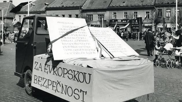 1. máj ve Vamberku 1972.
