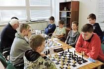 """Členové """"céčka"""" Pandy Rychnov (vzadu zleva): Martyniuk, Kačírek, Nosál, Till a Kumpošt."""